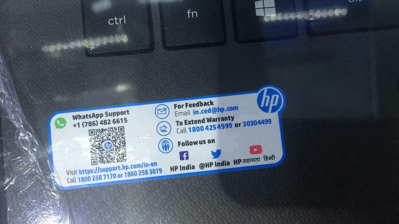 Hp Laptop Toll Free Number
