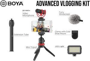 BOYA BY VG350 Vlogger Shotgun Microphone