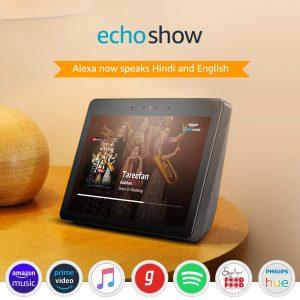 """Echo Show Premium sound Vibrant 10.1"""" HD screen Amazon Echo Show Smart screen Jaipur, Amazon Echo Show Smart screen Jaipur, Echo Show Availability Jaipur Echo Show Availability in Jaipur, Echo Show Jaipur Echo Show Jaipur"""